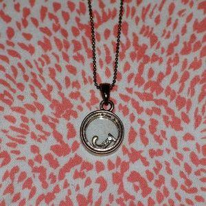 """J"" necklace"